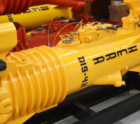 Image of Hera D19-42 diesel pile hammer