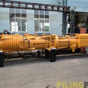 Image of the Hera D100 diesel pile driver