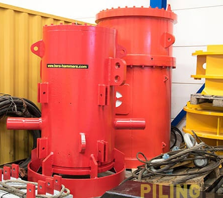 Image of the Sleeves for hydraulic pile drivers