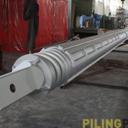 Image of the Kelly bar for drilling