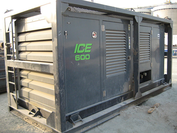 ICE 815C Vibro Hammer with ICE 550/600RF Powerpack for sale